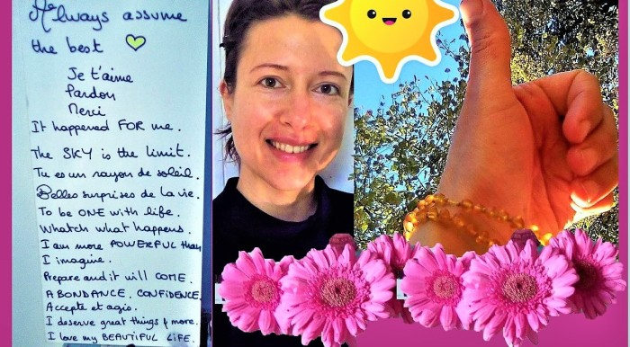 Ma carte secrète de #motivation et d'affirmations positives - Claire Samuel